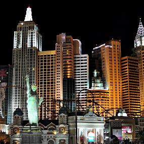 New York New York by Starla Sims - Travel Locations Landmarks ( las vegas, hotel, new york )
