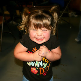 I am Just So Excited! by Corinna Burton - Babies & Children Children Candids
