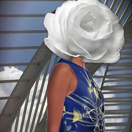 Joy A-Line Dress by Austin Lubetkin - Digital Art People