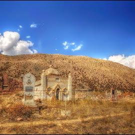 Cemetery Kyrgyzstan by Jana Vondráčková - City,  Street & Park  Cemeteries