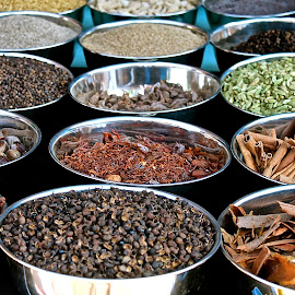Spices in Goa by Elizabeth M - Food & Drink Cooking & Baking ( #goa #spice #cook #india )