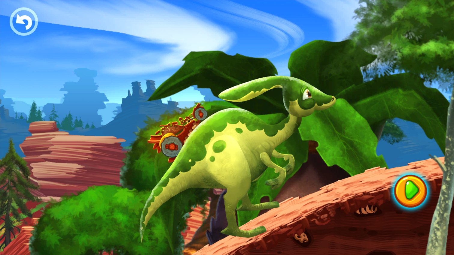 Fun Kid Racing Prehistoric Run Screenshot 4