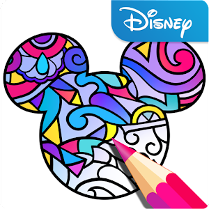 Color by Disney Icon