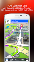 Screenshot of GPS Navigation & Maps Sygic