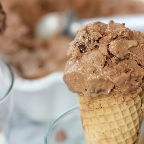 Dairy-Free Chocolate Coconut Almond Ice Cream