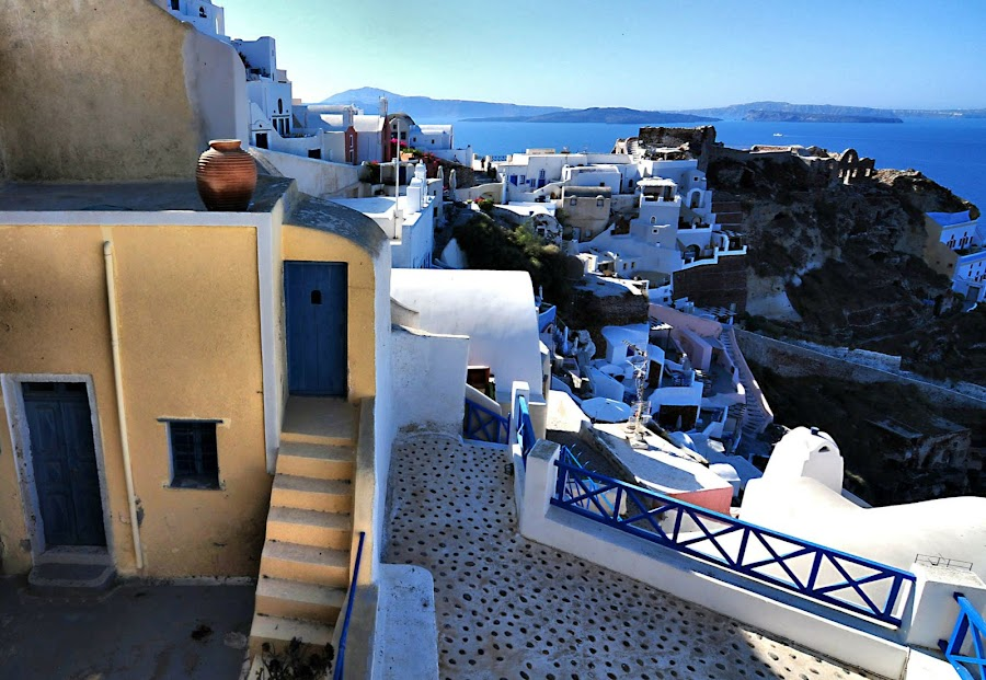 Santorini, Greece 4 by Costas Tsirgiotis - Landscapes Travel