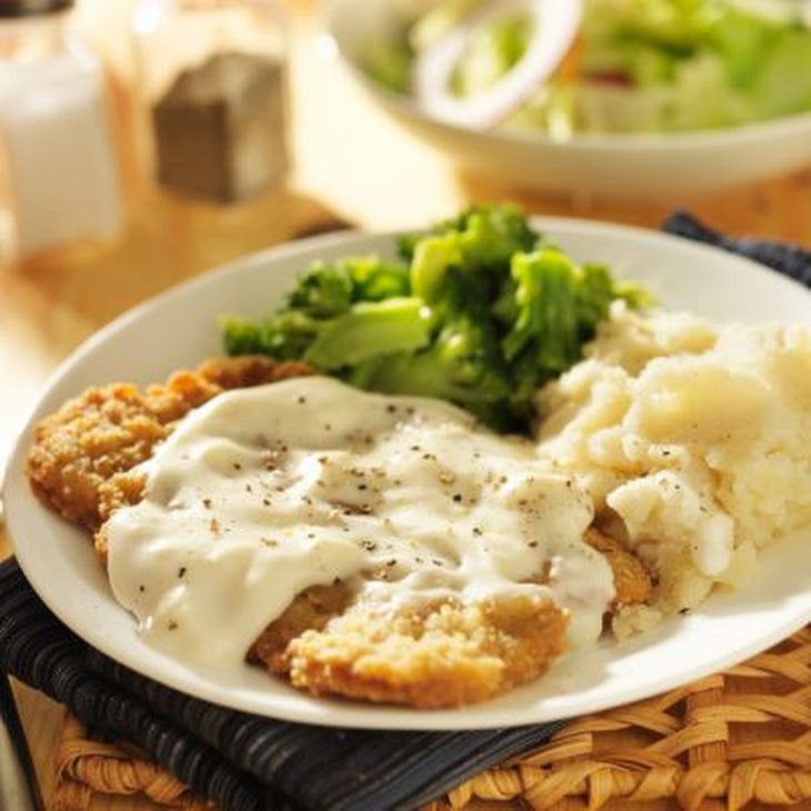 Chicken Fried Steak with Creamy Gravy Recipe | Yummly