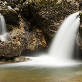 by Jože Pristavec - Nature Up Close Water ( water, pekel, slap, soteska, waterfall )