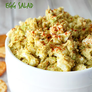 Avocado Egg Tuna Salad