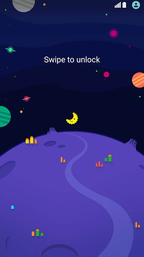 Space Theme for LGHome Screenshot 2