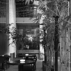 Parking by Beh Heng Long - Black & White Buildings & Architecture ( landscape,  )