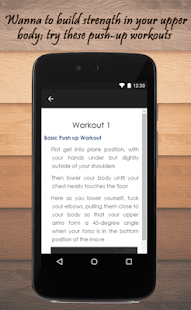 Pushups Workout Guide - screenshot