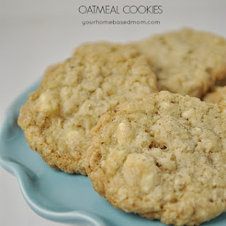 Salted White Chocolate Oatmeal Cookies