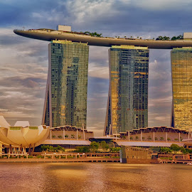 Marina Bay Sands by Arjay Jimenez - Buildings & Architecture Other Exteriors