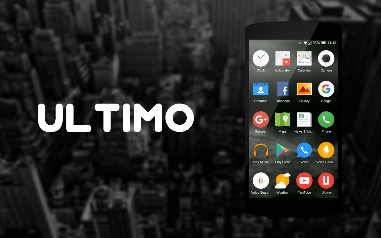 Ultimo Icon Theme Screenshot 5