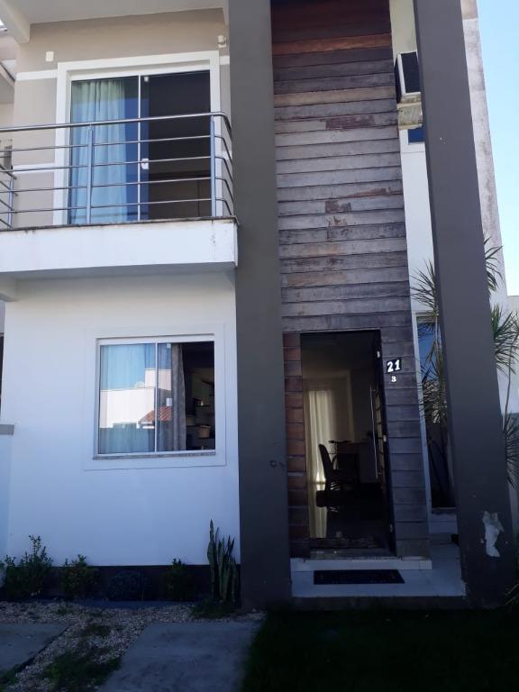Sobrado com 3 dormitórios à venda, 120 m² por R$ 350.000,00 - Mata Atlântica - Tijucas/SC