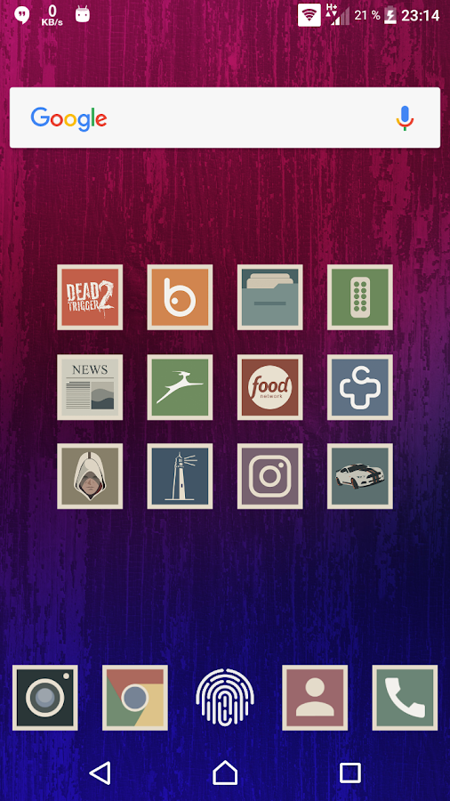 Shimu - Icon Pack Screenshot 2