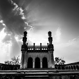 Gandikota Fort Mosque... by Gopal Nair - Buildings & Architecture Public & Historical ( building, old, gopal nair, mosque, architecture, fort,  )
