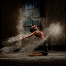 Powder Dancing II by Joshua Sujasin - People Musicians & Entertainers ( powder dance, fashion&style, ballerina, ballet, womenart,  )