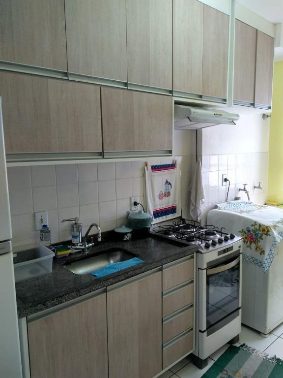 Apartamento com 2 dormitórios à venda, por R$ 160.000 - Vila Inema - Hortolândia/SP