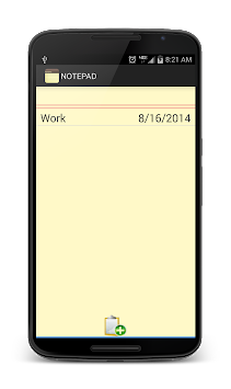 Notepad APK screenshot thumbnail 18