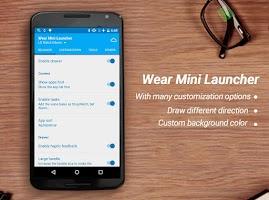 Screenshot of Wear Mini Launcher