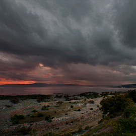 Kvarner by Miro Cindrić - Landscapes Cloud Formations