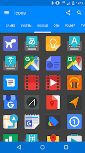 Touch - icon pack- screenshot thumbnail