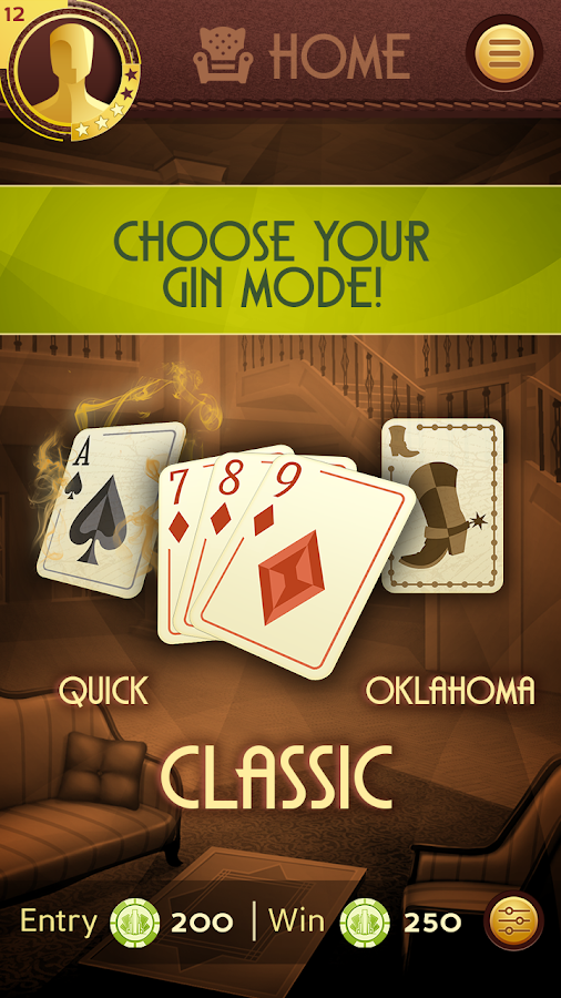 Grand Gin Rummy Screenshot 1