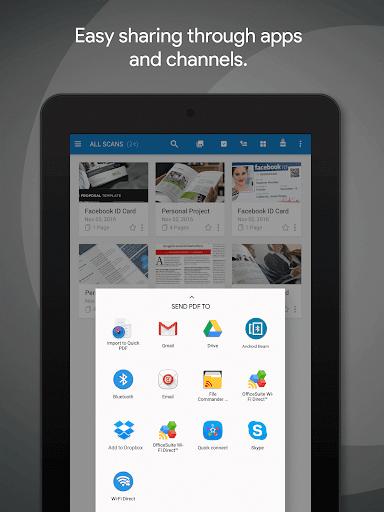 MobiSystems Quick PDF Scanner + OCR FREE screenshot 24