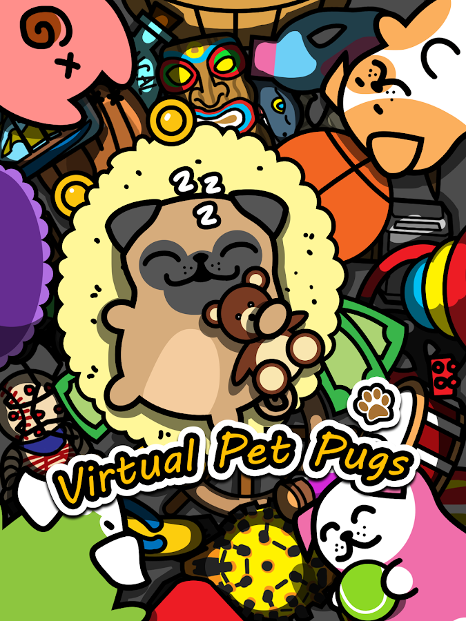 Virtual Pet Pug -Dog Collector Screenshot