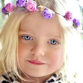 The Princess by Cheryl Korotky - Babies & Children Child Portraits