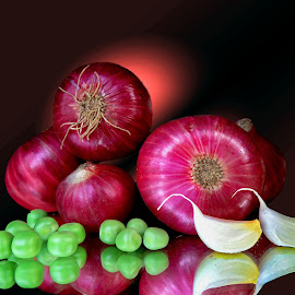 Onions by Asif Bora - Food & Drink Ingredients