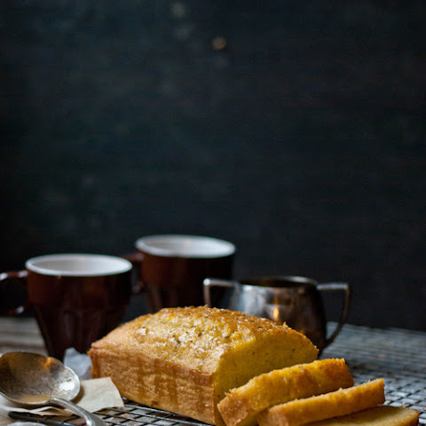 Kalikori Olive Oil, Toasted Fennel & Orange Loaf with Orange Glaze