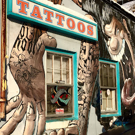 Inksanity by Jon Ablicki - Artistic Objects Signs ( sign, painted, tattoos, street, artistic, artist, tattoo, ink )