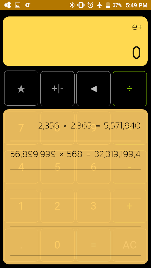 Calculator Elite+ Screenshot 3