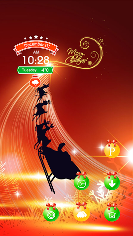 android Christmas light Screenshot 2