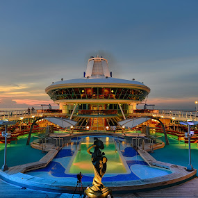 Royal Caribbean Cruise by Cuandi Kuo - Travel Locations Landmarks
