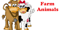 FARM ANIMALS BOUNCY CASTLE FOR HIRE