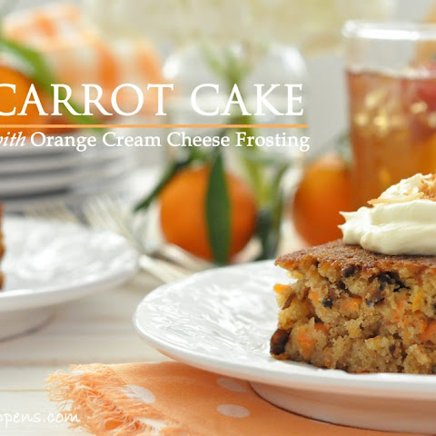 Carrot Cake With Orange Cream Cheese Frosting Recipes — Dishmaps