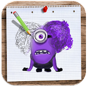 Download Full How to Draw and Colour Despicable Me 1.0 APK