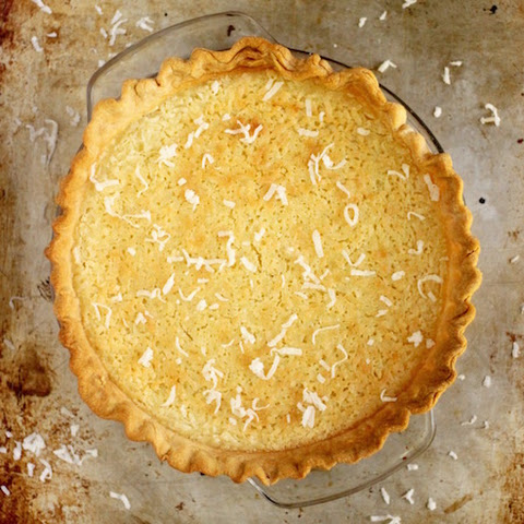 Coconut Buttermilk Pie