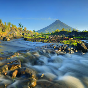 Mount Mayon  by Dacel Andes - Landscapes Mountains & Hills