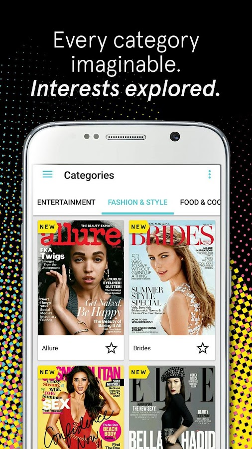 Texture – unlimited magazines Screenshot 2