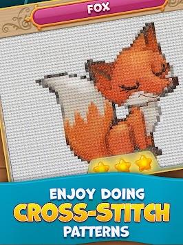 Cross-Stitch mania apk screenshot