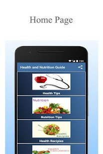 Health and Nutrition Guide for pc
