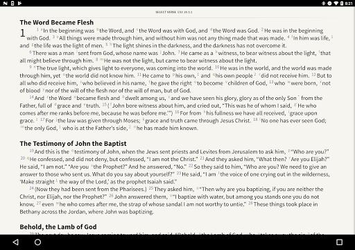NIV Bible by Olive Tree screenshot 6