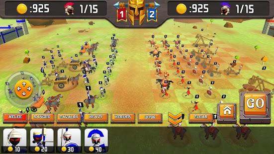 Greek Warriors : Castle Defence
