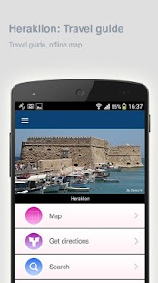Heraklion: Travel guide - screenshot