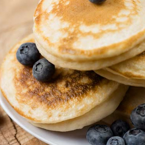 Almond Meal Pancakes – Basic